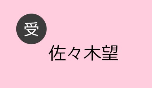佐々木望 受け役出演作品一覧